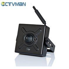 CCTVMAN Super IP Mini Camera 720P Wireless WIFI Pinhole Wide Angle Lens 1MP Audio TF Card Slot Support P2P Micro IP Cam