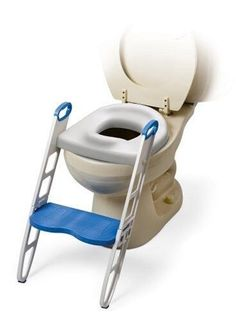 Step Up Padded Potty Seat Toddler Folding Toilet Best Baby Safety Non Slip