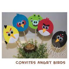 Angry Birds Invitations