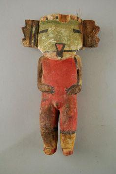 Brooklyn Museum: Arts of the Americas: Kachina Doll (Koyal)