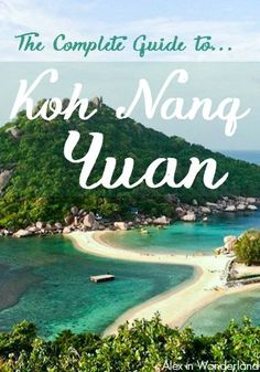 A day trip to the teeny island of Koh Nang Yuan is one of my top recommendations for people visiting Koh Tao.  Here's everything you need to know to make the most of your trip! | Alex in Wanderland