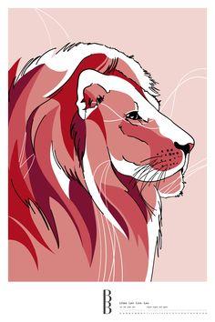 Sternzeichen Löwe / Zodiac sign Leo Illustration, Leo, Anime, Movie Posters, Astrology, Leo Sign, Stars, Film Poster, Illustrations