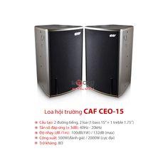 Loa hội trường CAF CEO-15 nhập khẩu chính hãng, giá thành tốt nhất. Liên hệ Bảo Châu Elec để được tư vấn tốt nhất, chúng tôi nhận vận chuyển hàng toàn quốc và quốc tế.