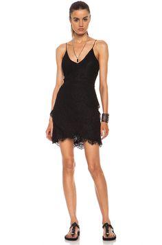 Isabel Marant Melva Nylon Dress in Black on shopstyle.com.au