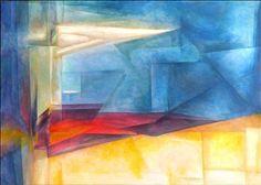 """lyonel Feininger   """"Kübizm"""""""