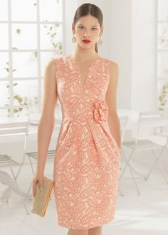 Aire Barcelona: Wedding dresses and evening gowns Elegant Dresses, Pretty Dresses, Dresses For Work, Formal Dresses, I Dress, Party Dress, Lily Cole, Evening Dresses, Fashion Dresses