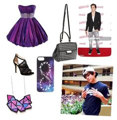"""""""prom w/hayes"""" by knijahb ❤ liked on Polyvore featuring Maggie Sottero, MANGO, Alexander Wang, Disney, women's clothing, women, female, woman, misses and juniors"""