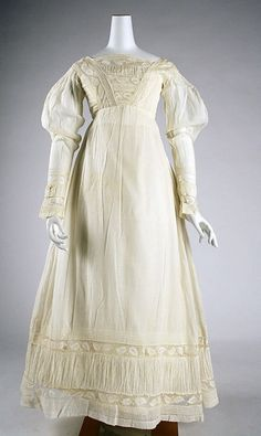 Morning Dress c. 1820 The Metropolitan Museum