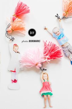 Diy Photo Bookmarks Gone are the days of folded pages that take your place in your … - Diy Gifts Diy Gifts For Mom, Mothers Day Crafts For Kids, Diy Mothers Day Gifts, Homemade Gifts, Diy For Kids, Teen Gifts, Guy Gifts, Diy Mother's Day Crafts, Mother's Day Diy