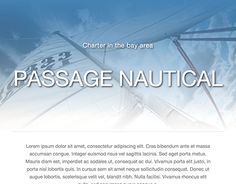 """Check out new work on my @Behance portfolio: """"Passage Yachts landing page design"""" http://be.net/gallery/32838959/Passage-Yachts-landing-page-design"""