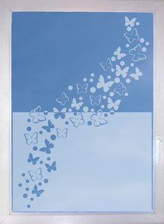 Schmetterlinge+02+-+Fenstertattoo+-+Milchglas+von+Design+Out+Of+Norm+auf+DaWanda.com