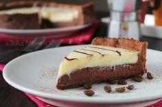 Torta Mocaccina Ernest Knam: semplice e golosa torta al caffè con cioccolato bianco e fondente.
