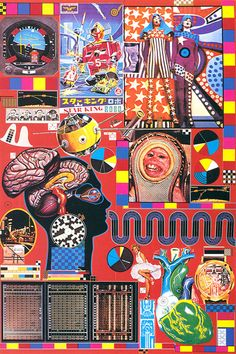 Screenprints by Scottish sculptor and artist Sir Eduardo Paolozzi Pop Art, Cultura Pop, Eduardo Paolozzi, Wessel, Arte Cyberpunk, Robert Rauschenberg, Jasper Johns, Arte Popular, Design Graphique