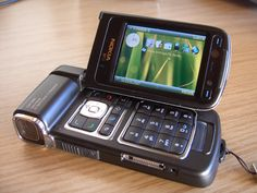 cámara de video incorporada en móbil