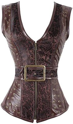 e99a139910f Steampunk Corset Gothic Vegan leather -A product of fantastic quality!
