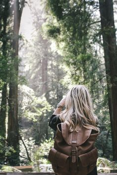 L.L.Bean Maine Guide Leather Rucksack featured on blog: Hemingway and Hepburn