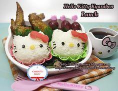 Bento#April20~Hello Kitty Kyaraben Lunch