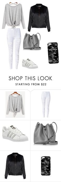 """""""Untitled #261"""" by timcaaa on Polyvore featuring WithChic, adidas, Lancaster, Glamorous and Mr. Gugu & Miss Go"""