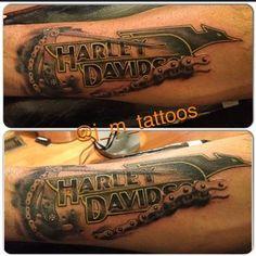 cool Top 100 harley davidson tattoos - 4develop.com.ua/... Check more at 4develop.com.ua/...