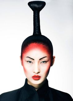 answer How to make geisha lips Quora Makeup Art, Beauty Makeup, Hair Makeup, Hair Beauty, Editorial Hair, Beauty Editorial, Geisha Make-up, Geisha Hair, Art Visage