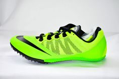 Nike Zoom Rival S 7 Women Track & Field Spikes Sprint Running Shoes Green NEW #Nike