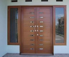 Incredible latest entrance door designs hall design attractive house and window the front for houses ideas . entrance door design designs for indian homes Door And Window Design, Wooden Front Door Design, Home Door Design, Double Door Design, Wooden Front Doors, Door Design Interior, House Front Design, The Doors, Hall Design