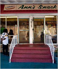 Ann's Snack Bar / Atlanta, GA
