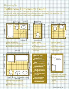 Small bathroom dimensions with a shower 6ft x 6ft Pine Ave