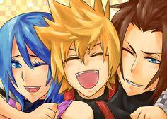 Aqua, Ventus and Terra - Kingdom Hearts Birth by Sleep