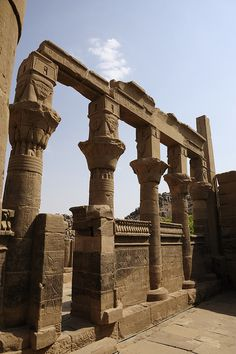 Philae Island ASwan, Egypt
