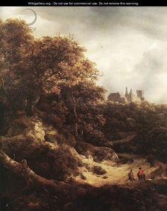 The Castle at Bentheim 1651 - Jacob Van Ruisdael