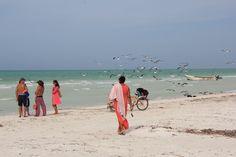 Por la playa, Isla Holbox, Mexico, January 2012