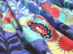 (売切れ商品)amy butler コットンネルプリント love - paradise garden / periwinkle [着分生地 110cm]【あす楽対応】【HLS_DU】【RCP】【楽天市場】
