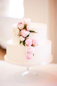 Wedding Cake, Sweet Mandy B's - Chicago Wedding http://caratsandcake.com/colinandkristina