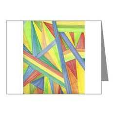 Abstract Design Greeting Cards