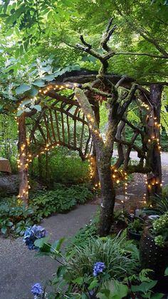Molly Ward Gardens in Washington - you'll feel like you're in a fairy tale when you have a meal here. Garden Arbor, Garden Path, Evergreen State, Garden Structures, Dream Garden, Oh The Places You'll Go, Garden Inspiration, Beautiful Gardens, Statues