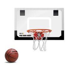 """SKLZ Pro Mini XL Basketball Hoop 23x16"""""""" Shatterproof Backboard HP01-000-02"""