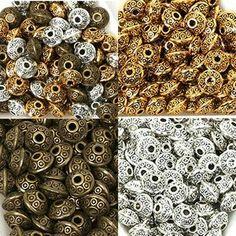 10pcs 10x8.5mm Antique Argent Large Trou Alliage Perles Européennes Bracelet Findings