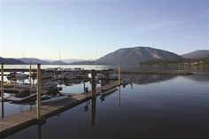 Salmon Arm Wharf - Shuswap Lake BC