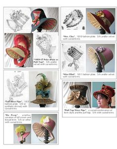 The Bohemian Belle: Lydia Fast Regency Bonnet Workshop #millinery #judithm #hats
