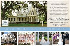 Weddings at the Rose Hill Mansion