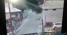 osCurve   Contactos : Hombre muere luego de 'volar' con su camión y estr...