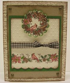Nature's Christmas by amrucci - Cards and Paper Crafts at Splitcoaststampers