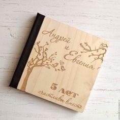Купить Фотоальбом с обложкой из дерева - бежевый, свадебные аксессуары, альбом для фото, свадебный фотоальбом