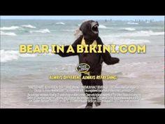 Classic.  mike's hard lemonade® Labor Day with a Bear in a Bikini