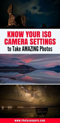 ISO photography settings depend on each individual and environmental circumstance. If you're new to photography and playing with camera settings, this will explain exactly what ISO is and how it affects your photos. Don't forget to save this to your photography board! #beginnersphotography