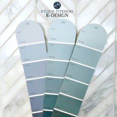 How to pick the best blue paint colour. Sherwin or Benjamin. Kylie M INteriors Edesign, online paint colour consulting expert