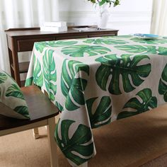 Aliexpress.com : Buy Forest Plant Southeast Asia cotton linen table cloth table decoration rectangle party wedding table cover kitchen tabelcloth from Reliable table linens and chair covers suppliers on QiekeHome Store