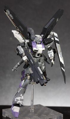 GUNDAM GUY: HGUC 1/144 Hi-Nu Gundam - Customized Build