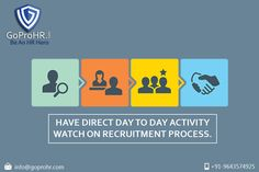 GoProHR.com is a one stop shop for Companies & Recruiters when it comes to recruitment industry in India. Its unique features like bidding system, recruitment industry based AI, sourcing of contracts, vendors accounting management, etc. are few of the many features of our software.